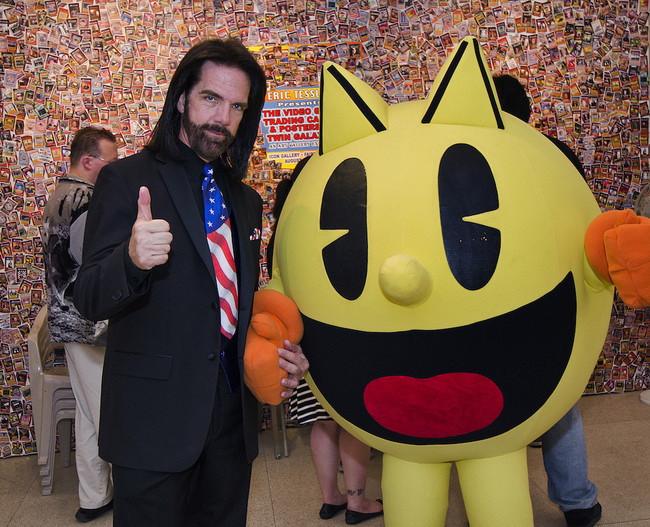 Billy Mitchell And Pac Man