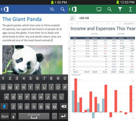 Office para Android ya está disponible en España