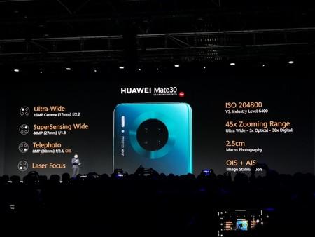 Huawei Mate 30 Oficial Camaras