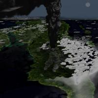 Una pérdida dramática del ozono de nuestra atmósfera ocurrió hace 70.000 años por la erupción del supervolcán Toba
