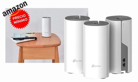 Ahora en Amazon, tienes un kit de 3 nodos para montar una red WiFi en malla como el TP-Link Deco E4 a su precio más bajo hasta la fecha: 99,99 euros