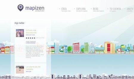 Mapizen, nueva red social para viajeros
