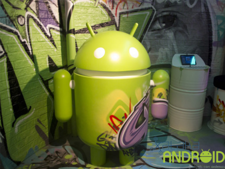 Así es Android Land, el stand de Android en el Mobile World Congress 2012