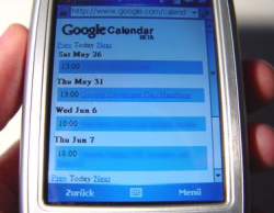 Google Calendar para móviles