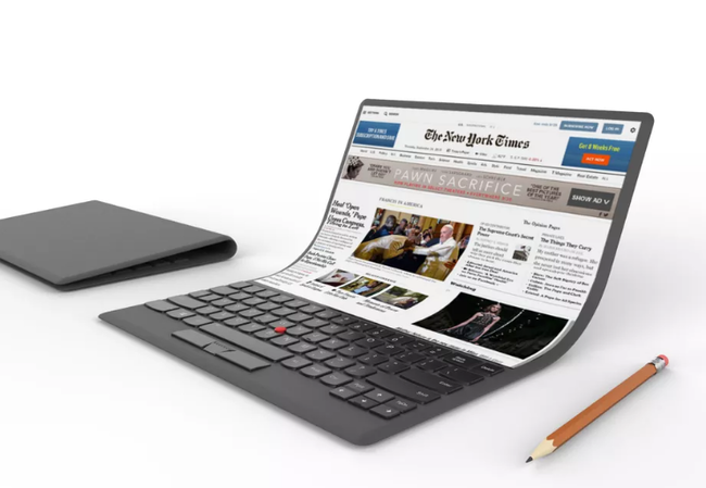 Lenovo Portatil Pantalla Flexible