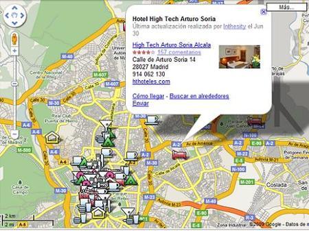 Mapas con los puntos wifi de Madrid