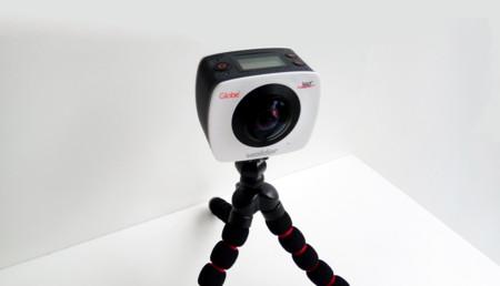 Wolder se abre camino entre las cámaras de acción que graban contenido en 360 grados