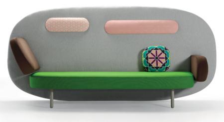 Karim Rashid diseña un sofá para la firma murciana Sancal: Float
