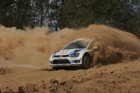Rally de México 2013: Sébastien Ogier, y por detrás, la nada