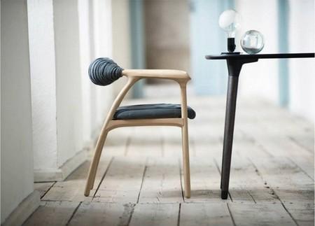 Una silla que estimula nuestro sentido del tacto