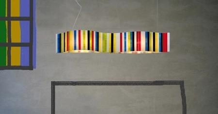 La alegría del color en la lámpara Vento Pop Art de Arturo Álvarez