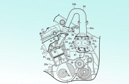 Honda Africa Twin Sobrealimentada Patente 2020 2