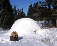 Dormir en un verdadero iglú