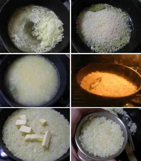Paso a paso del arroz pilaf