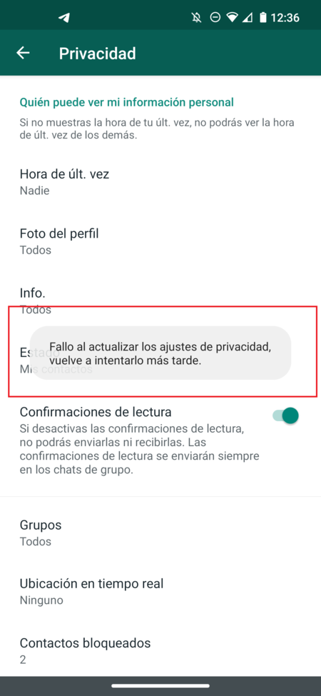 Whatsapp Fallo Privacidad Hora Conexion Mexico