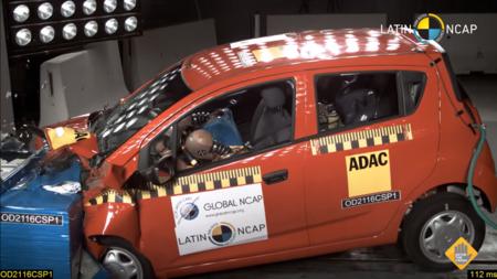 ¿Tienes un Chevrolet Spark Classic? LatinNCAP le ha otorgado cero estrellas en seguridad