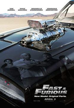 Fast & Furious, nuevo poster con el Dodge Charger R/T de protagonista