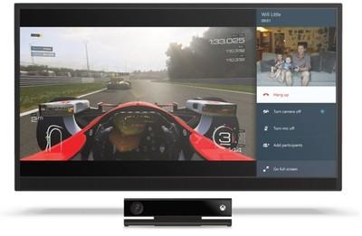 Ya puedes acoplar Skype en Xbox One mientras usas otras aplicaciones