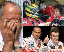 McLaren: de ser el equipo de Senna, a ser un equipo de pena