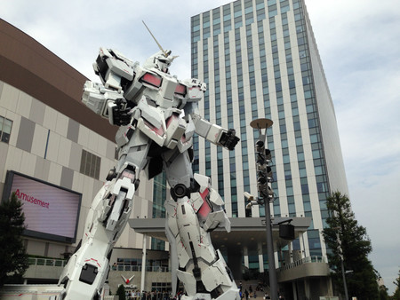 Unicorn Gundam Japon 3