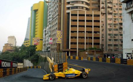 El día en que un Jordan de Fórmula 1 batió el récord del Circuito da Guia de Macao