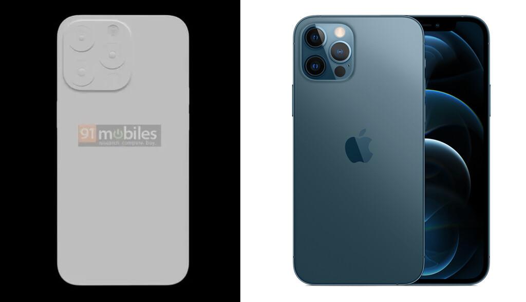 El iPhone 13 Pro contará con mayores cámaras y más batería, según una nueva filtración