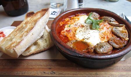Huevos Plato Marroquies