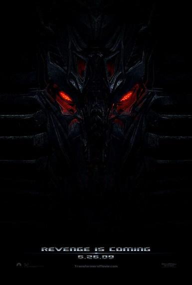 'Transformers: Revenge of the Fallen', teaser póster