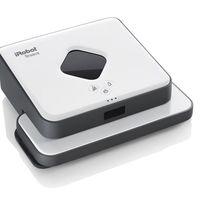 Hoy en Amazon, el robot mopa iRobot Braava 390T está a precio mínimo, por sólo 179,99 euros
