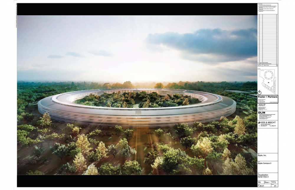 Foto de Proyecto original del nuevo campus de Apple (11/27)