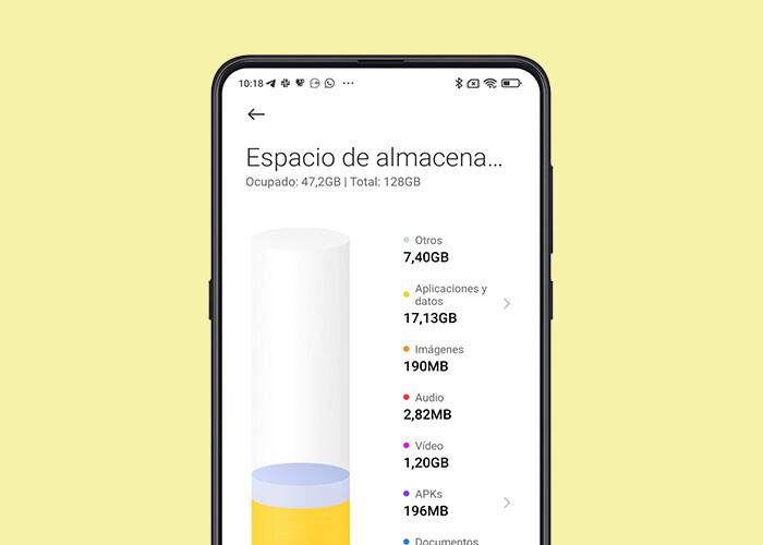 MIUI 12: cómo eliminar el espacio ocupado por 'otros' en  Xiaomi