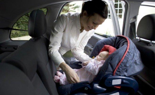 coche con niño