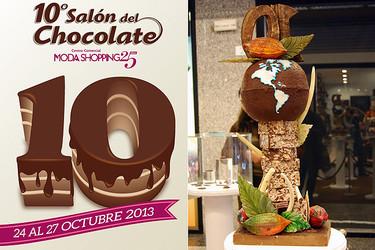 Pasión por el cacao en el 10º Salón del Chocolate. Breve historia del chocolate y sus distintos tipos