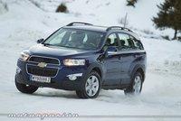 Chevrolet Captiva, presentación y prueba en Austria (parte 2)