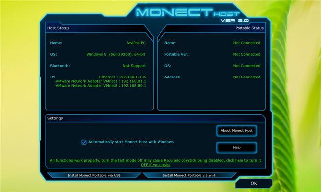 Monect Host
