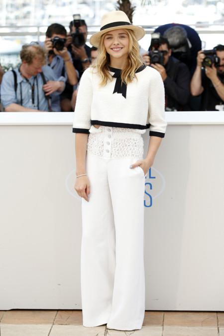 Chloe Moretz Chanel Cannes