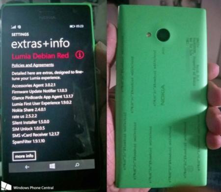 Se filtran las posibles dimensiones definitivas y más datos del Nokia Lumia 730 a través de los documentos de la FCC