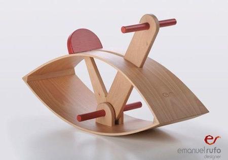 El caballito de madera un cl sico reinventado - Caballito de madera ikea ...