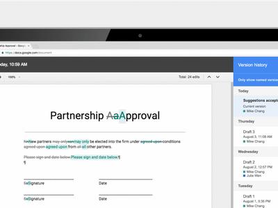 Ahora es más fácil editar en equipo dentro de Google Docs