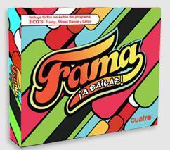 CD de música de Fama, ¡A bailar!