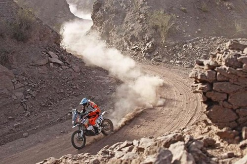 Dakar 2015: Uyuni - Iquique, etapa 8