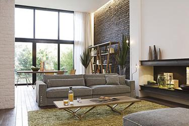 Separar ambientes: La disposición de los muebles