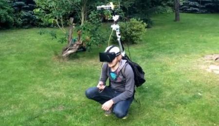 Vive la vida en tercera persona con Oculus Rift y GoPro Hero