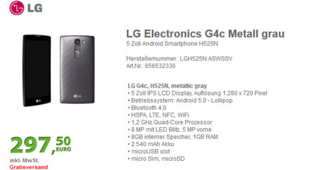 Lg G4c Filtracion
