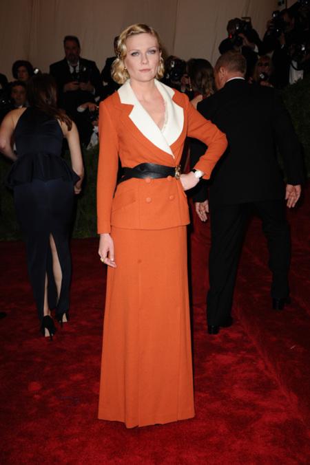 Kirsten Dunst met 2012