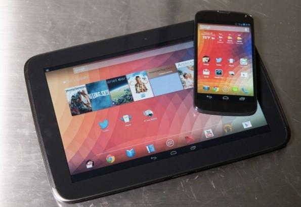 Nexus 10 & Nexus 4