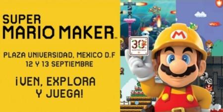 Habrá celebración de lanzamiento de Mario Maker en la Ciudad de México