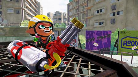 Hoy en la noche llegará una nueva arma a Splatoon, la Hydra Splatling
