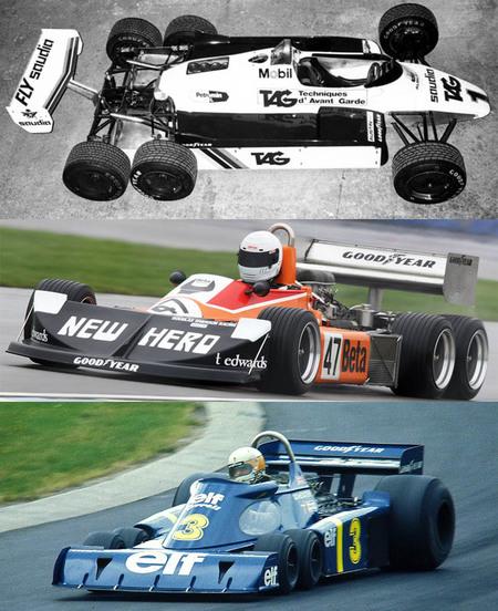 El festival de la velocidad de Goodwood acogerá a los únicos monoplazas de seis ruedas de la Fórmula 1