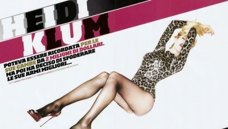 Heidi Klum muy exótica para GQ Italia